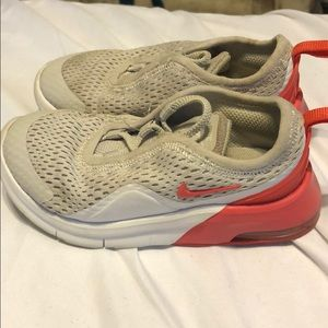 Nike Gray and Red shoes